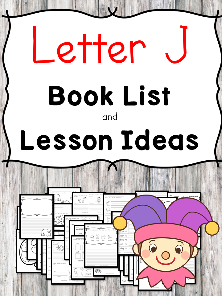 Teaching the letter J? Include some books include letter J sound. Here is the Letter J book list to teach the letter J sound.