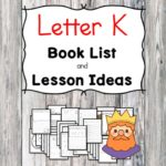 Teaching the letter K? Include some books include letter K sound. Here is the Letter K book list to teach the letter K sound.