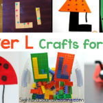 Letter L Crafts for preschool or kindergarten - Fun, easy and educational!