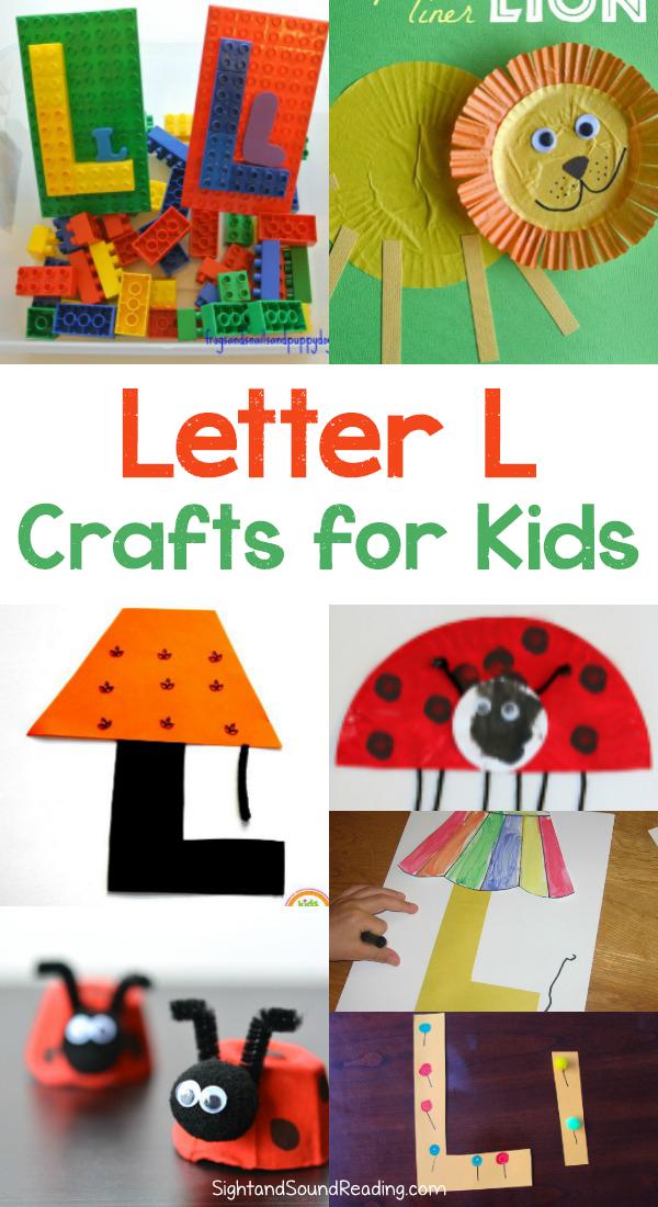 Letter L Crafts for preschool or kindergarten – Fun, easy ...