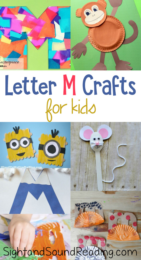 Letter M Crafts for preschool or kindergarten – Fun, easy and