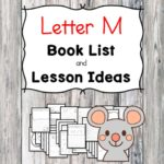 Teaching the letter M? Include some books include letter M sound. Here is the Letter M book list to teach the letter M sound.