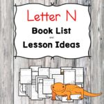 Teaching the letter N? Include some books include letter N sound. Here is the Letter N book list to teach the letter N sound.