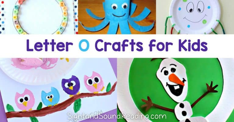 20+ Easy Letter O Crafts- Fun and Educational!