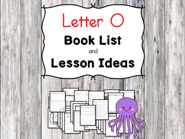 Teaching the letter O? Include some books include letter O sound. Here is the Letter O book list to teach the letter O sound.