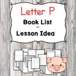 Letter P Book List
