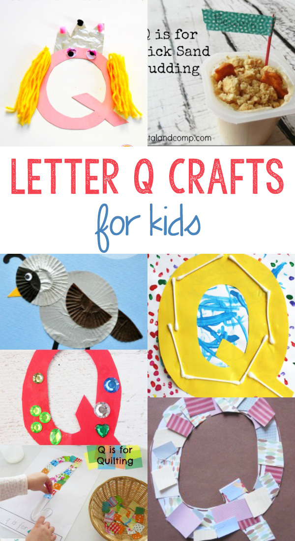 Letter Q Crafts for preschool or kindergarten – Fun, easy and