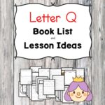 Teaching the letter Q? Include some books include letter Q sound. Here is the Letter Q book list to teach the letter Q sound.