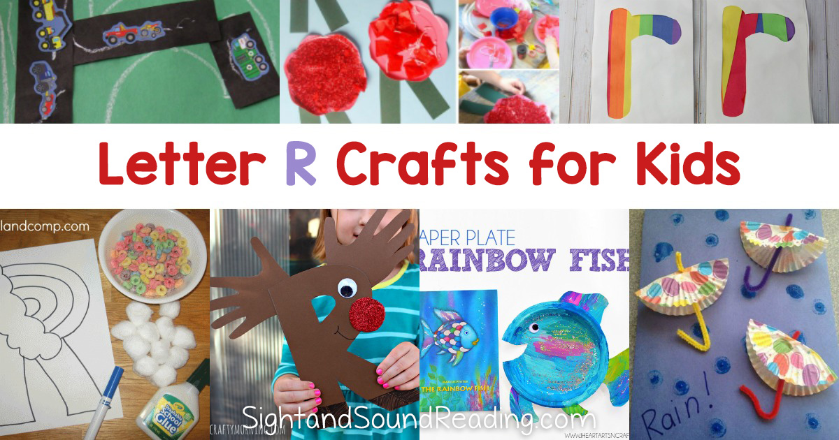 Letter R Crafts for preschool or kindergarten - Fun, easy and educational!