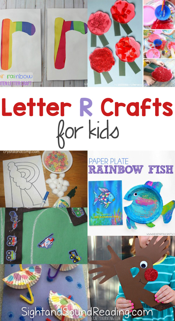 Letter R Crafts for preschool or kindergarten – Fun, easy and