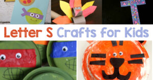 Letter S Crafts for preschool or kindergarten