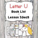Letter U Crafts