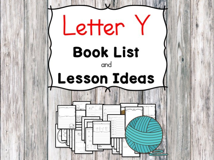 Letter Y Book List