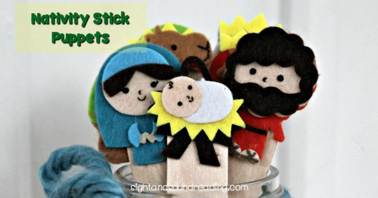 Nativity Stick Puppets