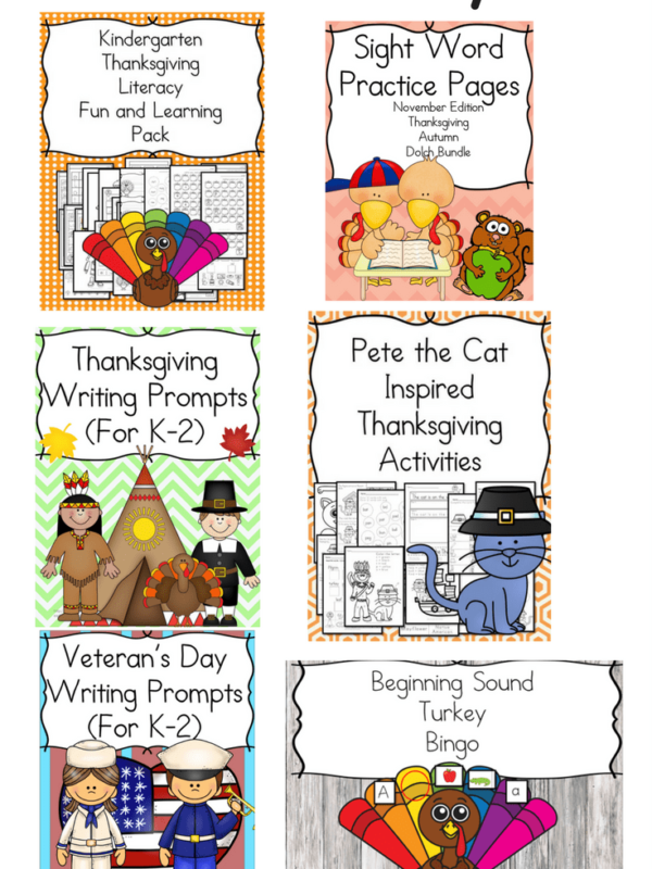 November Literacy Bundle Deal