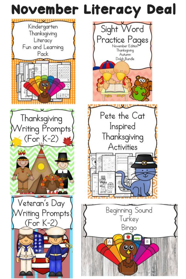 November Literacy Bundle Deal
