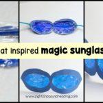 Pete the Cat Magical Sunglasses Craft