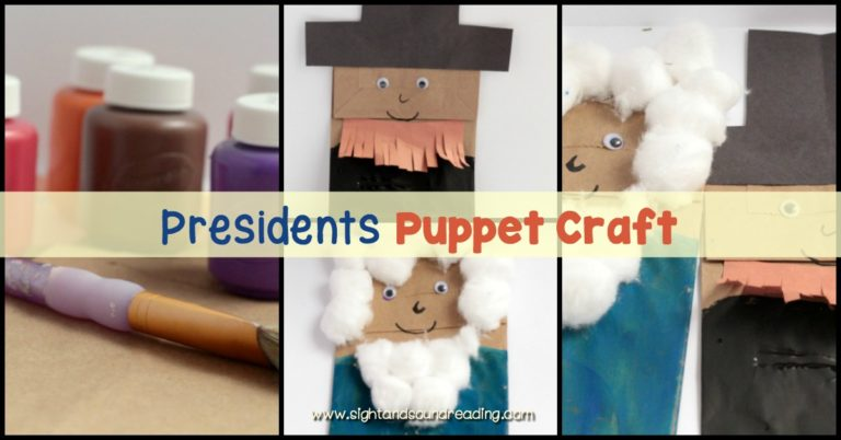 Paper Bag President Puppet Craft