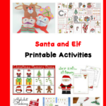Help make Christmas time fun and educational with these Santa and Elf Worksheets for kids! Fun, free, AND educational!