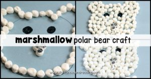 Winter is the perfect time to try fun winter-themed crafts and polar bear crafts! This fun polar bear craft is perfect for preschoolers and kindergartners