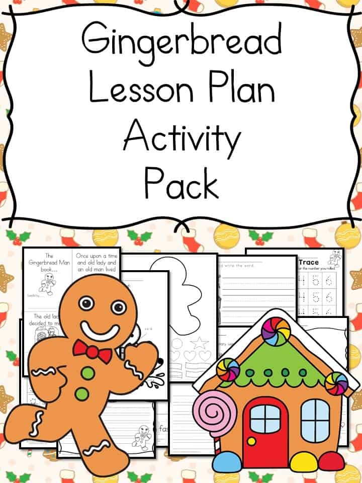 Gingerbread Man Lessons and Activities