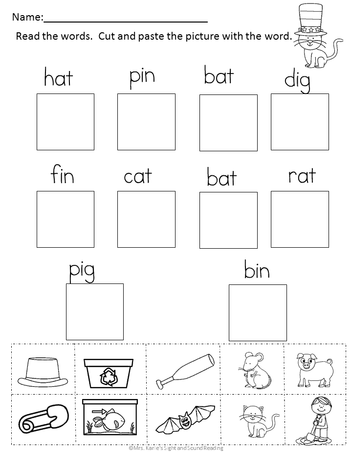 Fun word family worksheets to celebrate a Dr. Seuss birthday party