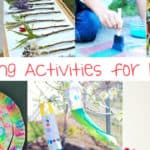 20+ Spring Activities for Kids-Enjoy the weather!