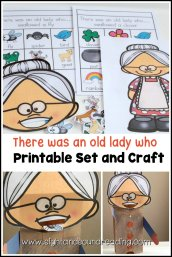 photo relating to There Was an Old Lady Printable Template named Craftivity: There was an aged girl who swallowed..