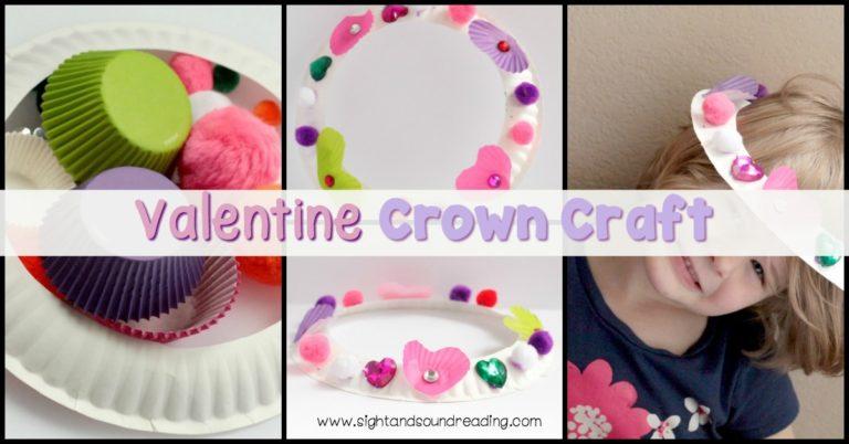 Valentine's Day Crown Craft