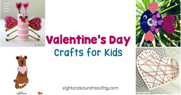 40+ Valentine Crafts for Preschoolers -Easy and Fun!