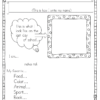 All About Me Writing Prompts for Kindergarten-2nd! Have fun learning about your students with these fun writing prompts!