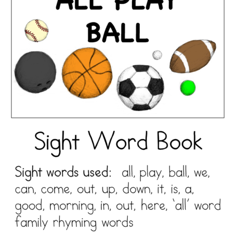 all-play-ball-sight-word-book
