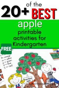 Apple-Printable-Activities-K