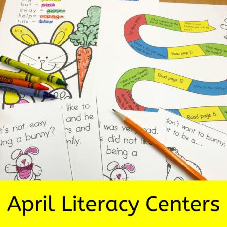 April Literacy Centers