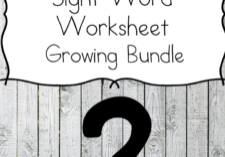 Editable Sight Word Worksheet Pack