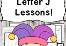 This file includes everything you need to teach the letter J Lesson: the book list recommendation, worksheets, mini books, and activities.