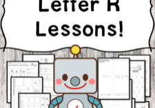 Letter R Lessons: Print and Go Letter of the Week fun!