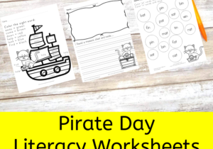 Pirate Cat Activities for Pirate Day
