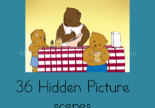 Seek and Find the Phonics sounds -fun workbook to help teach phonics