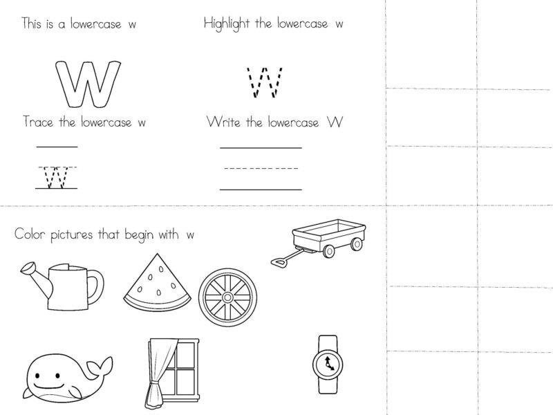 Beginning Sound Worksheets for Kindergarten