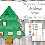 Christmas Beginning Sound Bingo