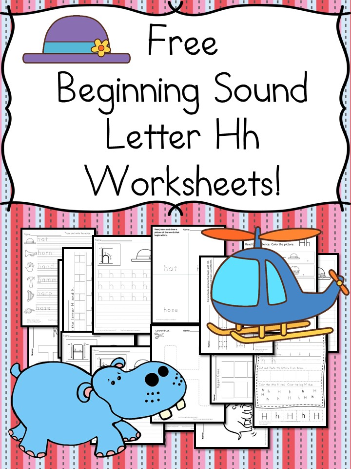 18 free beginning sound h worksheets free download today i have a whole bunch of beginning sounds letter h worksheets for you there are handwriting pages cut and paste activities and more thecheapjerseys Choice Image