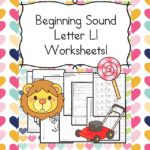 Free Beginning Sounds Letter L worksheets to help you teach the letter L and the sound it makes to preschool or kindergarten students.