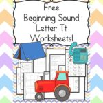 Free Beginning Sounds Letter T worksheets to help you teach the letter T and the sound it makes to preschool or kindergarten students.
