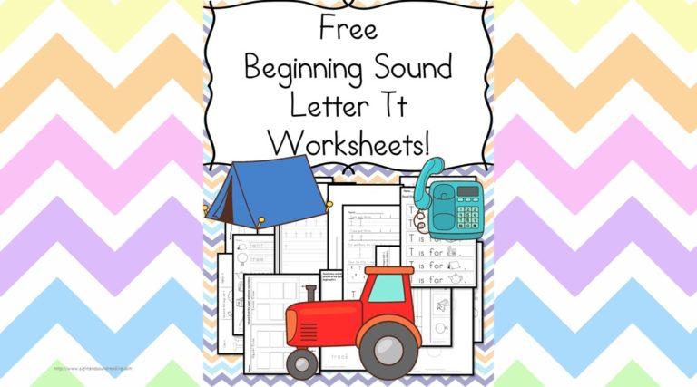 18 Free Beginning Sound Letter T Worksheets – Easy Download!