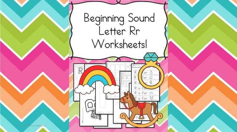 18 Free Beginning Sound Letter R Worksheets -Easy Download!