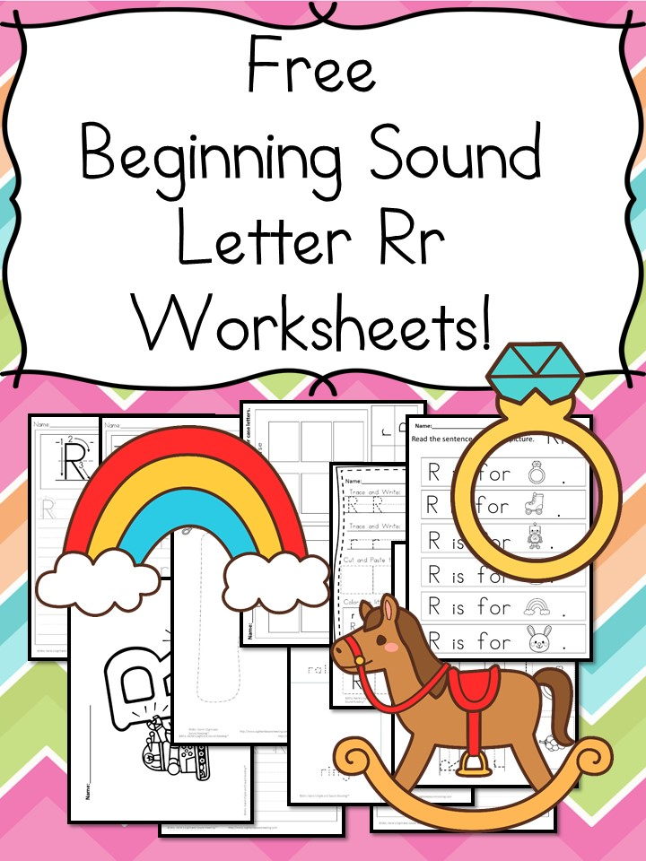 Beginning Sounds Letter R Worksheets Free And Fun