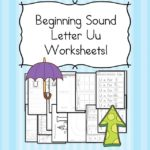 Free Beginning Sounds Letter U worksheets to help you teach the letter U and the sound it makes to preschool or kindergarten students.