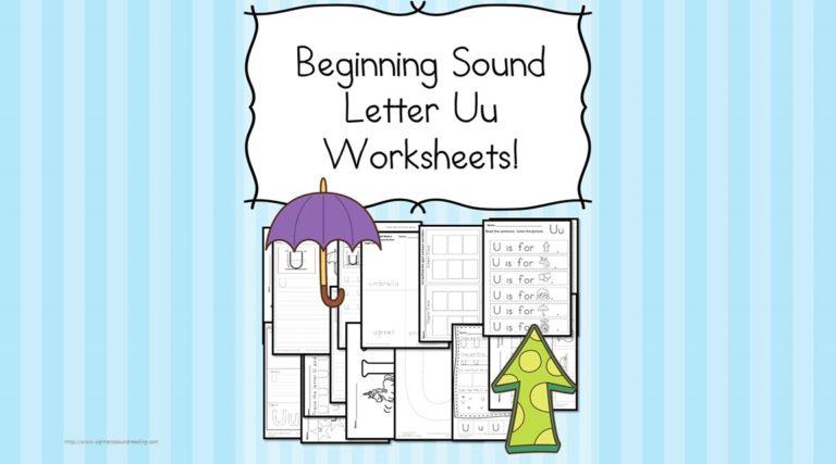 18 Free Letter U Beginning Sound Worksheets – Easy Download!