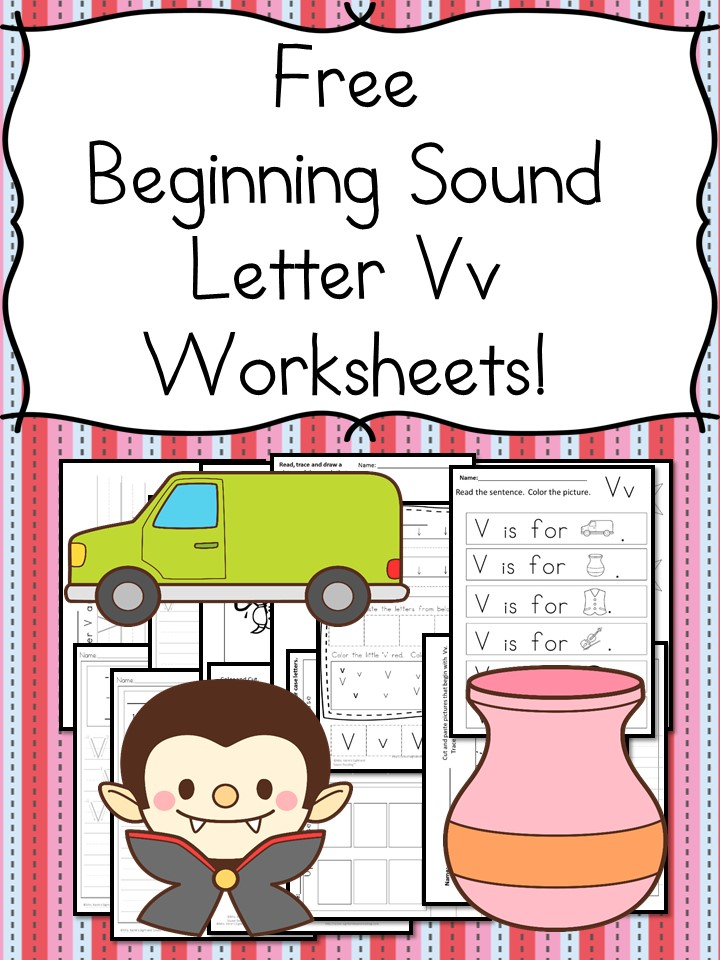 Today I Have A Whole Bunch Of Beginning Sound V Worksheets For You There Are Handwriting Pages Cut And Paste Activities More: V Is For Vulture Worksheet At Alzheimers-prions.com